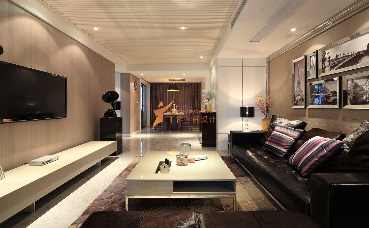徐汇区四房两厅大平层现代奢华装修