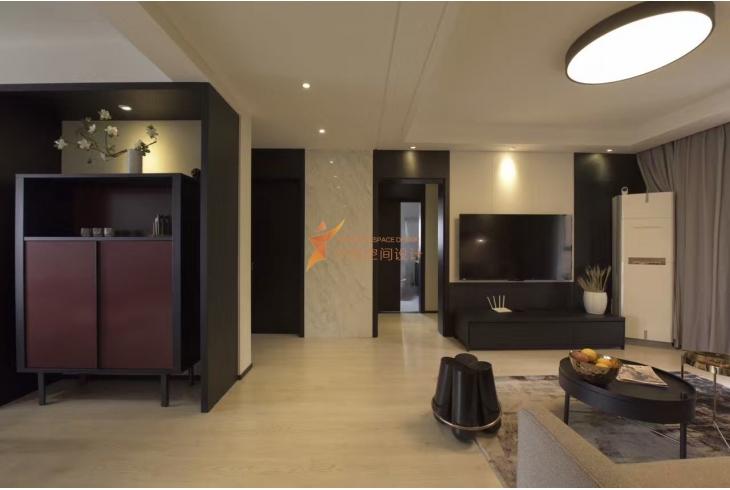 黄浦区两房两厅现代简约风格装修设计