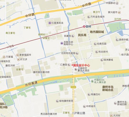 浦东设计中心办公地址搬迁通告