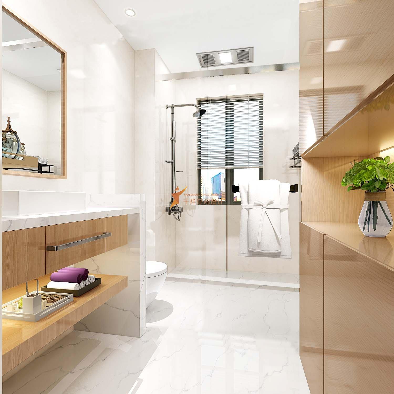 浦东新区广兰路三房两厅北欧风格装修设计-浦东新区北欧风格装修设计广兰路三房两厅卫生间设计效果图