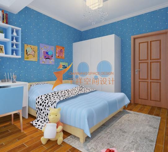 装修儿童房如何选择适合的壁纸